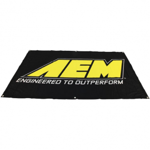 "AEM 10-937 Banner, Aem 72"" x 42"" Nylon Screen Print"