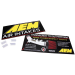 AEM 10-938 Sign, Logo & Intake Benefits, 20 x 9