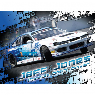 AEM 10-946 Hero Card, Jeff Jones, 8-1/2 x 11