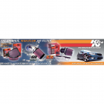 K&N 89-0136 EMEA AUTO HEADER CARD - ENGLISH