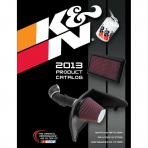K&N 89-11482-13 Catalog, Automotive, 2013