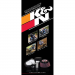 "K&N 89-11548 PowerSports Mini Brochure, 8-1/2"" X 3-5/8"""