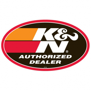K&N 89-11595 POP, Window Cling, Authorized Dealer, Dbl Sided