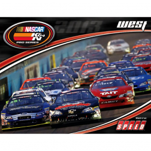 K&N 89-11636-13 Hero Card, Nascar PS West