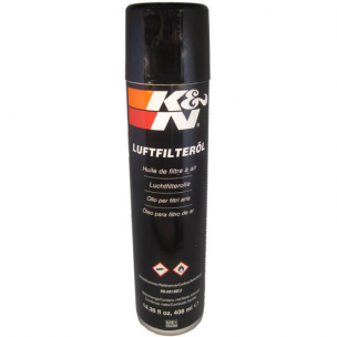 K&N 99-0518EU Air Filter Oil 14.36 fl oz/408 ml Aerosol Spray- Non-US